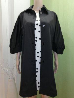 Rinascimento Płaszcz oversize czarny