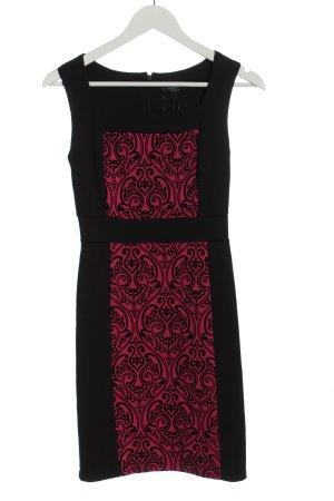 Rinascimento Etuikleid schwarz abstraktes Muster Elegant