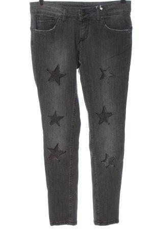Rinascimento Jeans vita bassa grigio chiaro stile casual