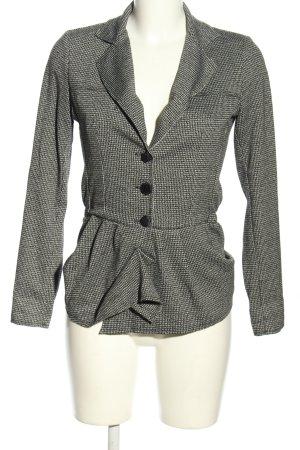 Rinascimento Jersey blazer zwart-wit zakelijke stijl