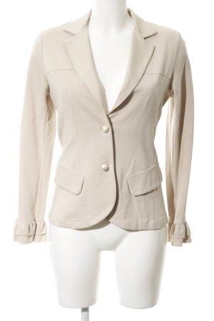 Rinascimento Jersey blazer licht beige extravagante stijl