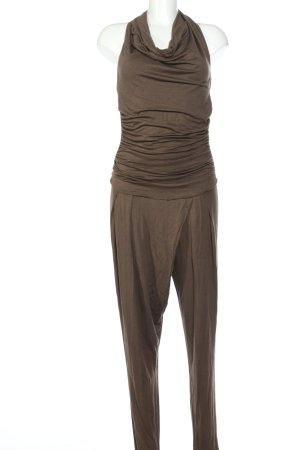 Rinascimento Jumpsuit braun meliert Casual-Look