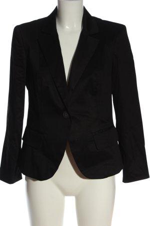Rinascimento Klassischer Blazer zwart zakelijke stijl
