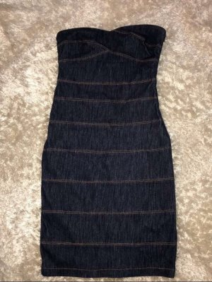 Rinascimento Denim Dress dark blue