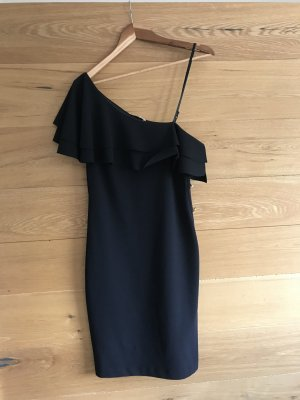 Rinascimento One Shoulder Dress black