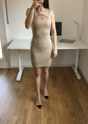 Rinascimento Kleid Minikleid beige XS 34