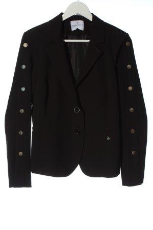 Rinascimento Blazer corto nero stile casual