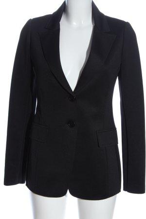 Rinascimento Korte blazer zwart zakelijke stijl