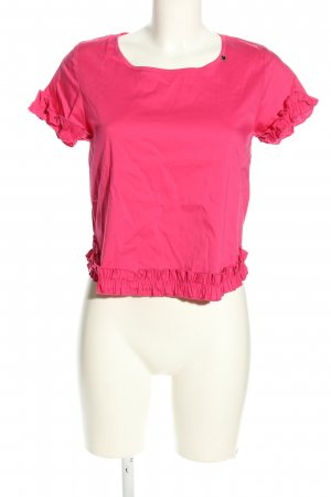 Rinascimento Kurzarm-Bluse pink Casual-Look