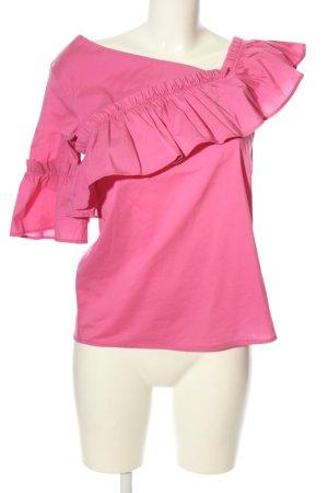 Rinascimento Kurzarm-Bluse pink Casual-Look