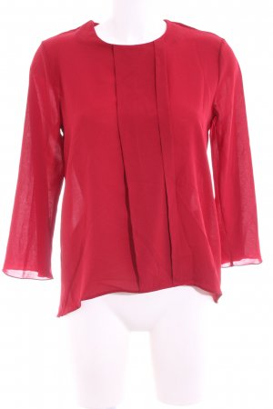 Rinascimento Langarm-Bluse rot Business-Look