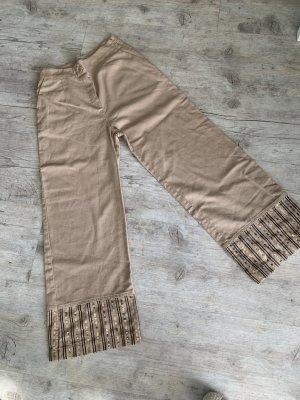 Rinascimento Pantalone culotte multicolore Lino