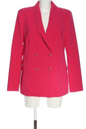 Rinascimento Lange blazer roze casual uitstraling