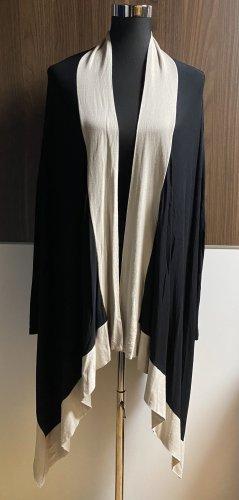 Rinascimento Chaqueta estilo camisa negro-beige claro