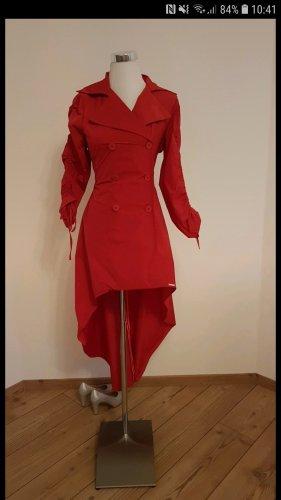 Rinascimento Gabardina tipo vestido rojo oscuro
