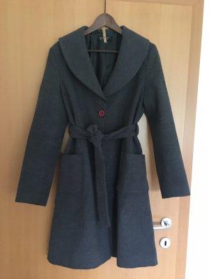 Rinascimento Płaszcz zimowy szary Poliester