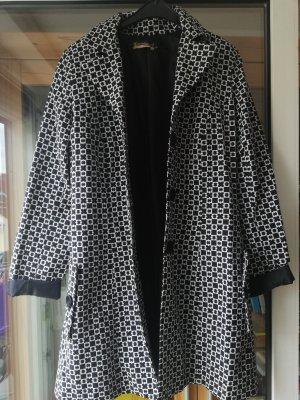 Rinascimento Gabardina tipo vestido blanco-negro