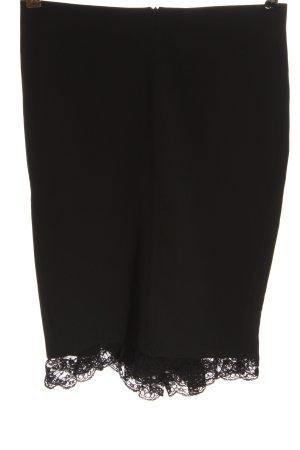 Rinascimento Spódnica midi czarny W stylu biznesowym