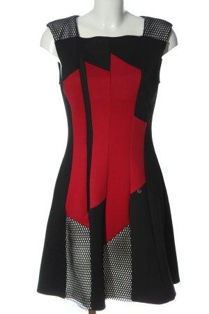 Rinascimento Minikleid rot-schwarz Casual-Look