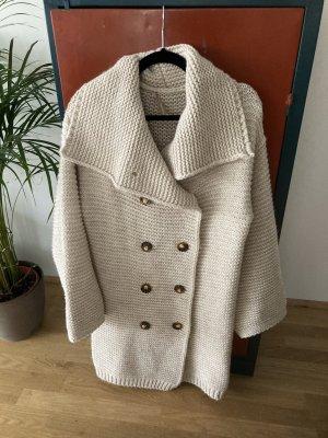 Rinascimento Cardigan a maglia grossa bianco sporco-crema