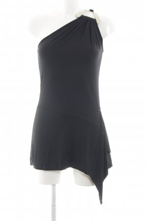 Rinascimento One-Shoulder-Top schwarz Casual-Look