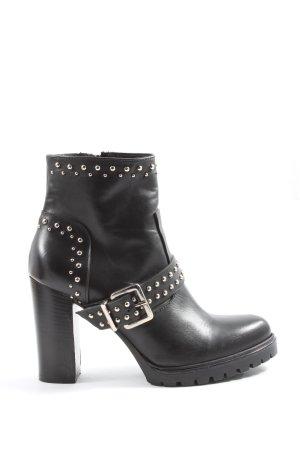 Rinascimento Reißverschluss-Stiefeletten schwarz Casual-Look