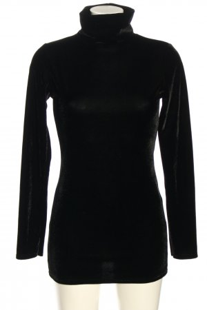 Rinascimento Maglione dolcevita nero stile casual