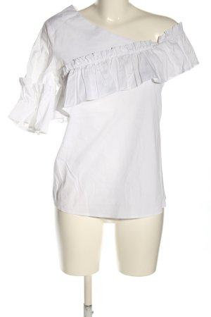 Rinascimento Rüschen-Bluse weiß Casual-Look