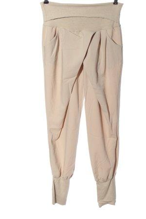Rinascimento Pantalone jersey crema stile casual