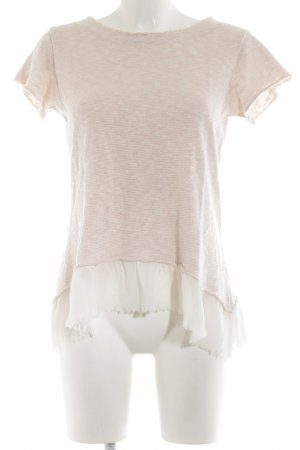 Rinascimento Knitted Jumper cream-pink flecked casual look