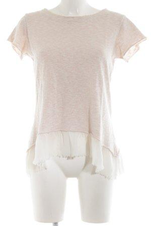 Rinascimento Strickshirt creme-pink meliert Casual-Look