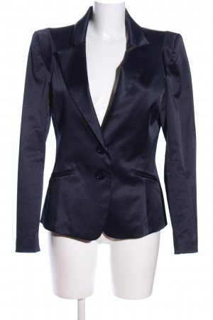 Rinascimento Kurz-Blazer blau Business-Look