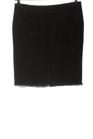 Rinascimento Jupe en tweed noir style décontracté
