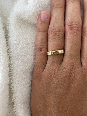 Bague en or doré