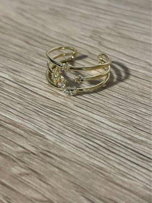 Ring 14 Karat vergoldet neu