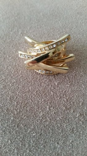 Bijou Brigitte Statement Ring gold-colored