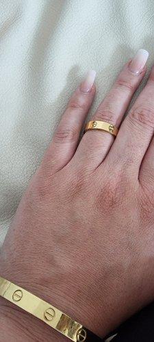 Minus Złoty pierścionek złoto