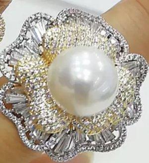 Gouden ring wit-goud
