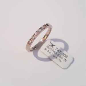 Ring 585 Weißgold. 5 Brillanten 0.1ct Gr. 54 Ungetragen. UVP 747€. Handgefertigt in Deutschland