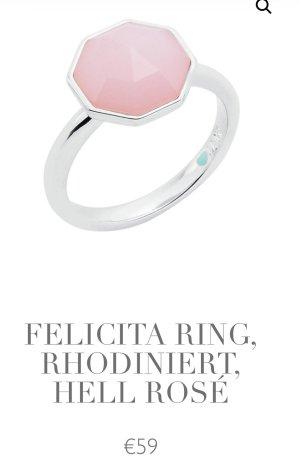 Pierre Lang Statement ring zilver-rosé