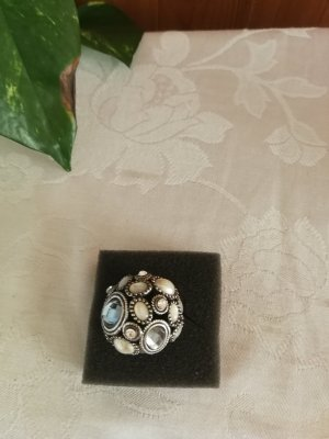 Statement Ring silver-colored