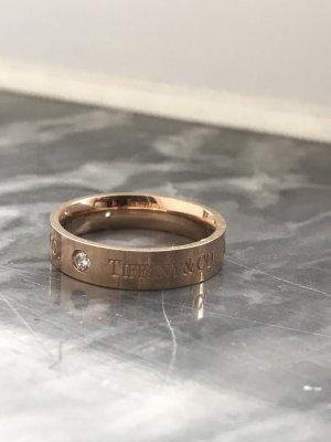 Ring 750er vergoldet mit zirkonia