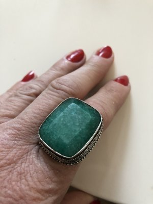 Statement Ring forest green