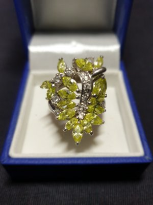 & other stories Zilveren ring groen