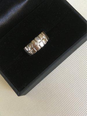 Ring 925er Sterling-Silber mit 3 Steinen