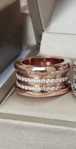 Ring aus Edel*stahl Neu mit Verpackung Ringgröße Farbe Größe 21mm