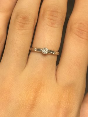Ring aus Silber Silber Ring Silber 925 Schmuck Ring mit Zirkonia Zirkonia Ring Echtschmuck Schmuck Größe 16,5