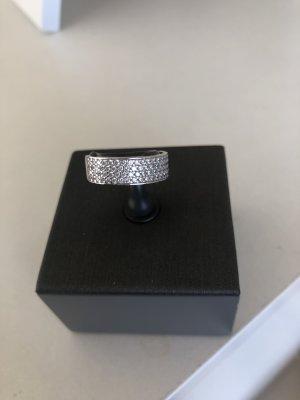 A Gouden ring wit Gemengd weefsel
