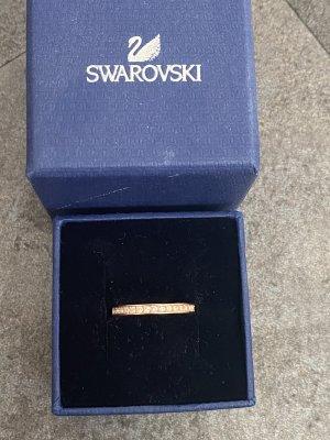 Swarovski Bague incrustée de pierres or rose