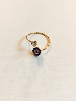 Anello d'oro multicolore